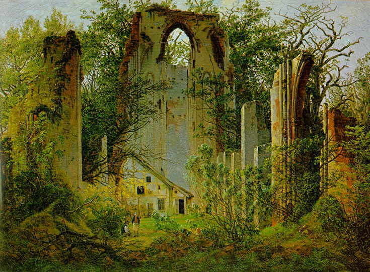 Ruine Eldena (Caspar David Friedrich)